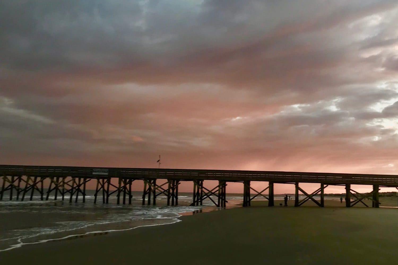 Pier in Isle of Palms Beach
