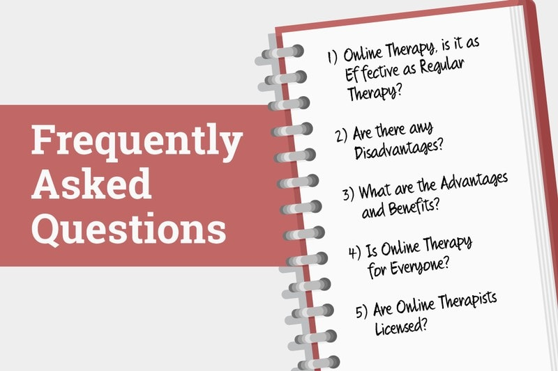Picture of Frequently Asked Questions for Online Therapy