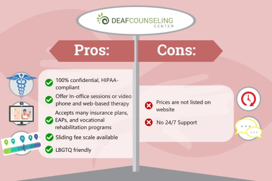 Deaf Counseling Review Pros and Cons